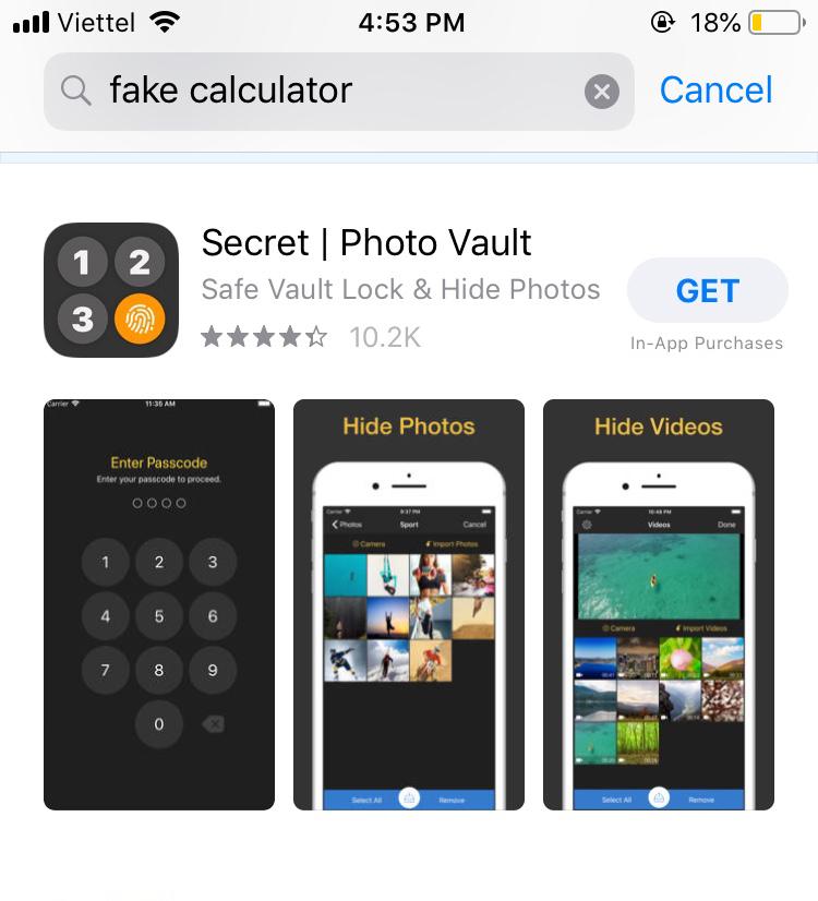 Photos Video Locker Apps